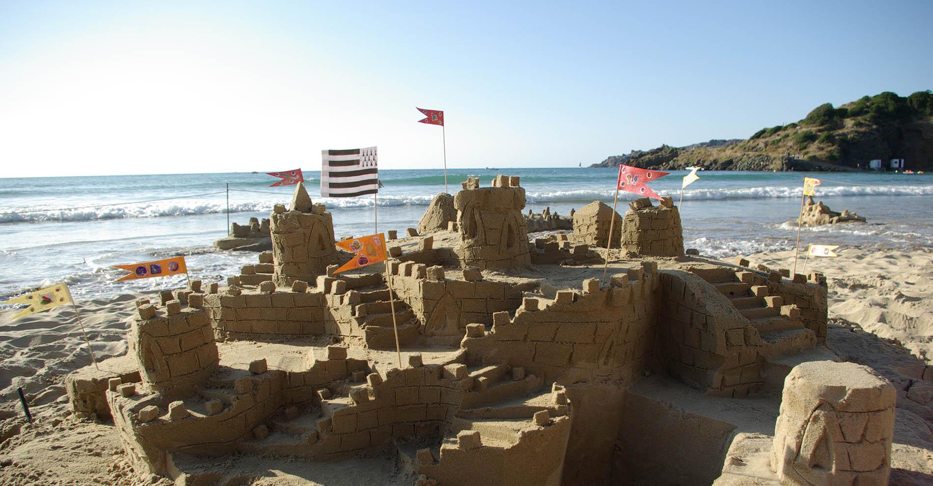 chateau de sable les calots verts