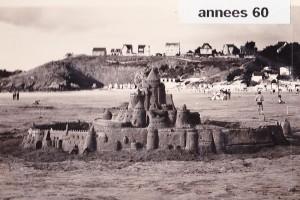 chateau de sable années 60