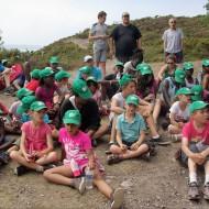 enfants colonie de vacances les calots verts
