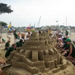 chateau de sable colonie les calots verts