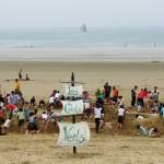photo de plage les calots verts